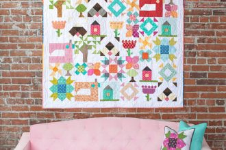 Heartland Heritage by Heather Valentine for Inspiring Stitches