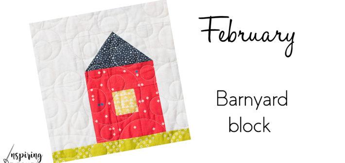 "9"" finished Barnyard Block"