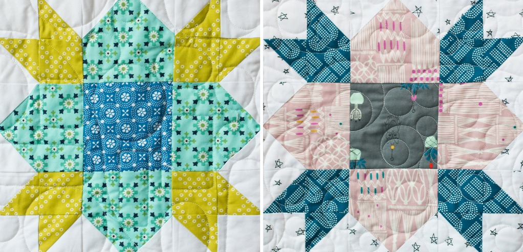 Wildflower Blocks from Heartland Heritage Quilt