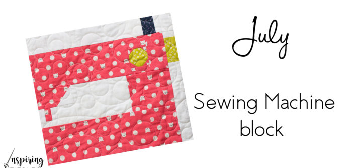 We are excited to start the next block in Heartland Heritage. This sewing machine block is beyond cute and would be so much fun as a mini. This scrappy quilt pattern is sew cute and easy to make.