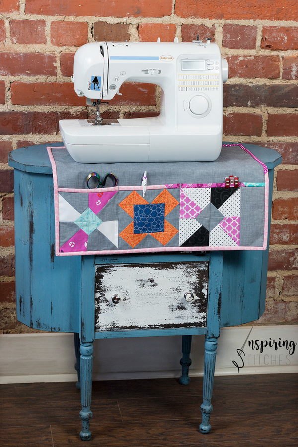 Use your Heartland Heritage Blocks to create a new sewing mat for your studio.