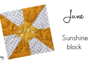 We are excited for summer and the sunshine block from Heartland Heritage. This scrappy quilt pattern is sew cute and easy to make.