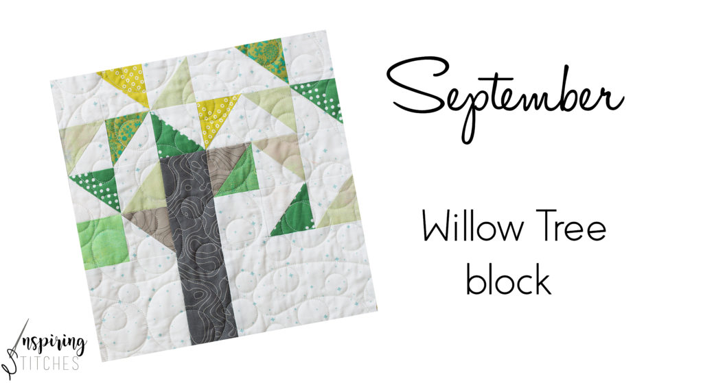 It's time to perfect our half square triangle technique with the Willow Tree Quilt Block from the Heartland Heritage pattern. This scrappy quilt from the gals at Inspiring Stitching is the perfect design for building your quilting skills.