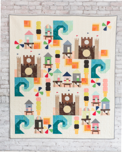 Beach Bound Quilt Pattern in shops now!