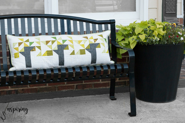 Bench Pillow Project | Inspiring Stitches