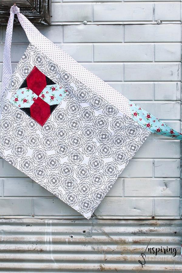 Heartland Heritage Apron Bonus Project | Inspiring Stitches