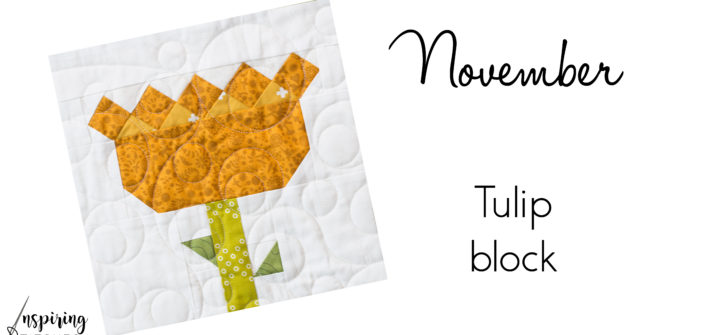 Tulip Block Heartland Heritage Block of the Month
