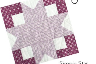 Simple Star Block | Sew Hometown