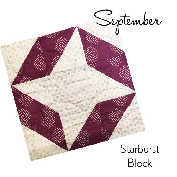 Starburst Block - Sew Hometown
