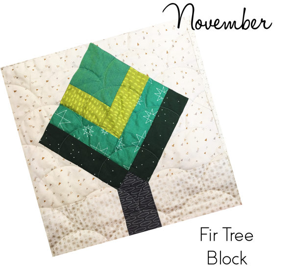 Fir Tree Block - Sew Hometown by Inspiring Stitches